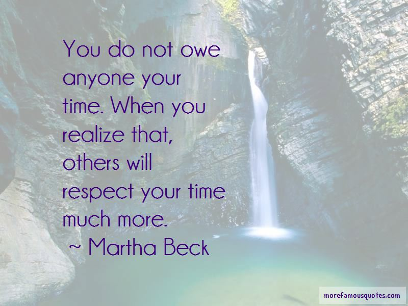 Respect Your Time Quotes