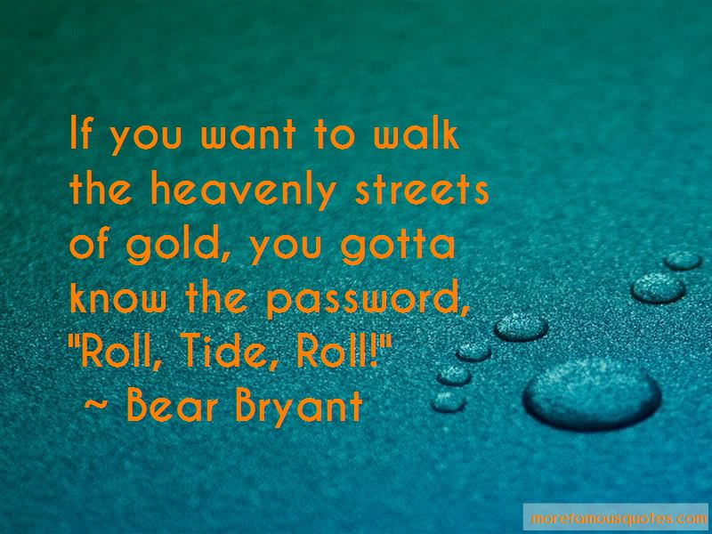 Roll Tide Quotes