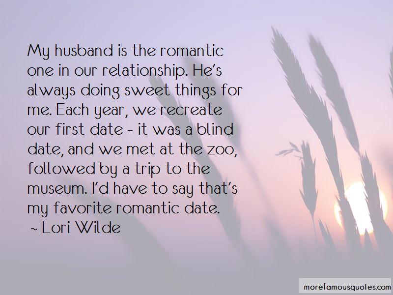 Romantic Date Quotes