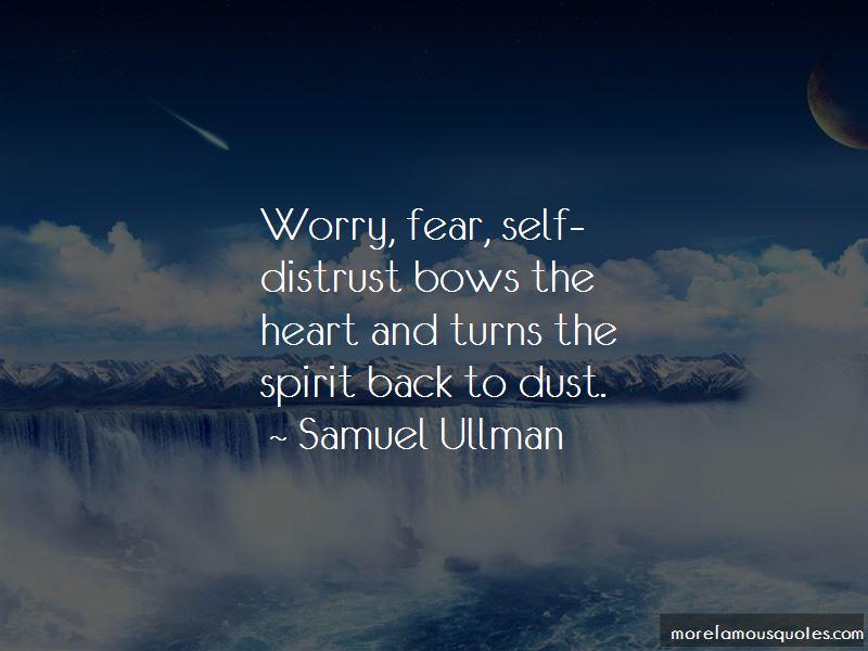Self Distrust Quotes Pictures 3