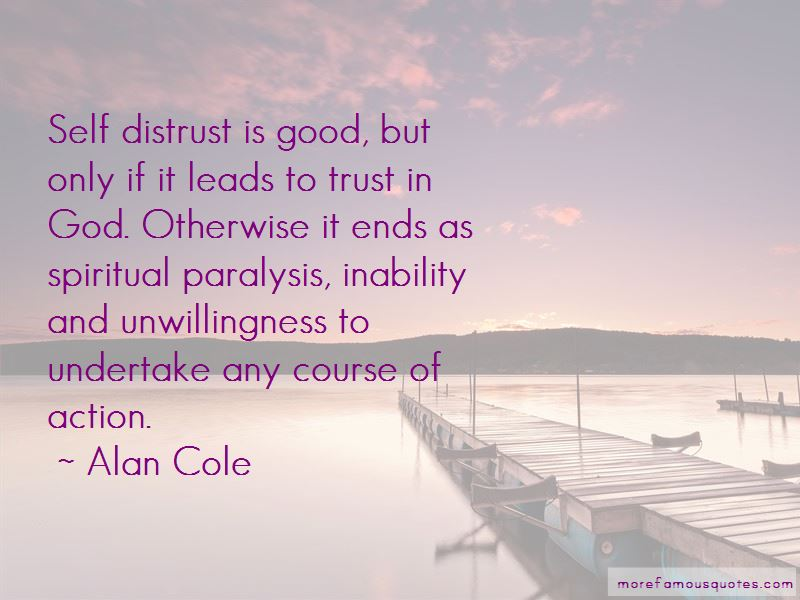 Self Distrust Quotes Pictures 4