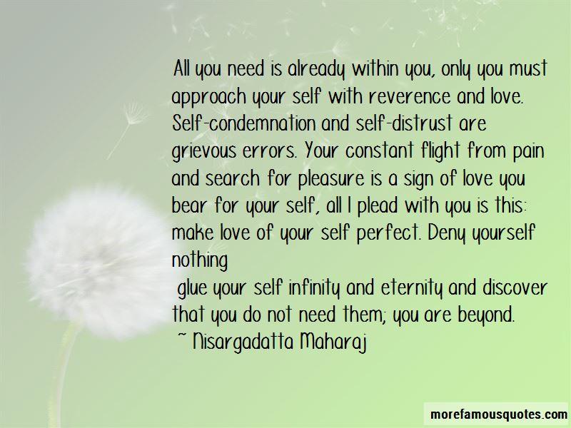 Self Distrust Quotes
