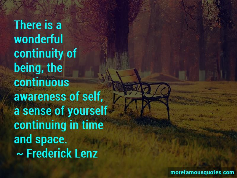 Self Space Quotes