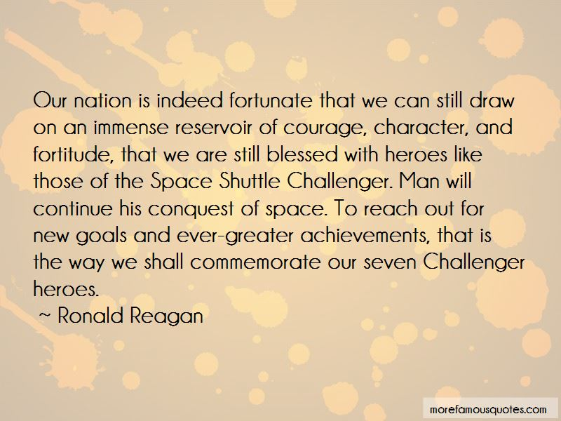 Shuttle Challenger Quotes