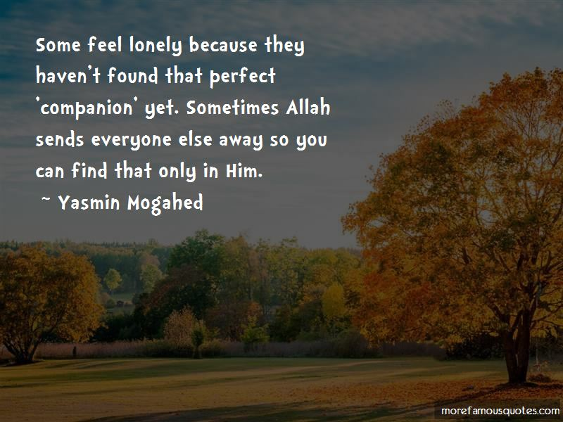 Sometimes You Feel So Lonely Quotes