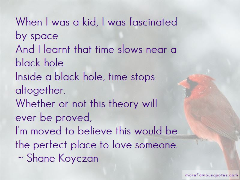 Space Time Love Quotes