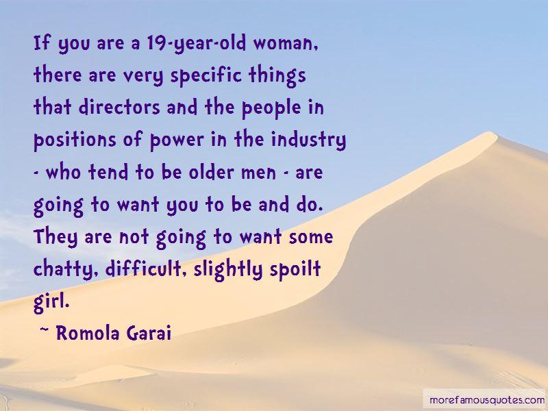 Spoilt Woman Quotes