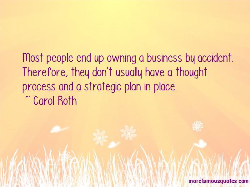 Strategic Business Plan Quotes