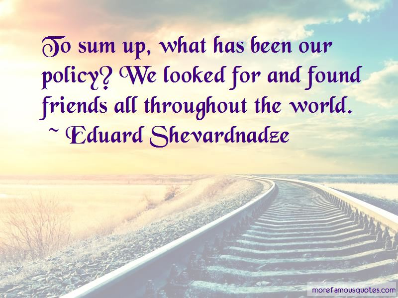 Sum Up Quotes Pictures 3