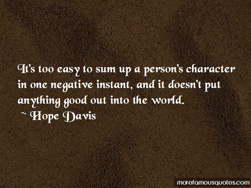 Sum Up Quotes