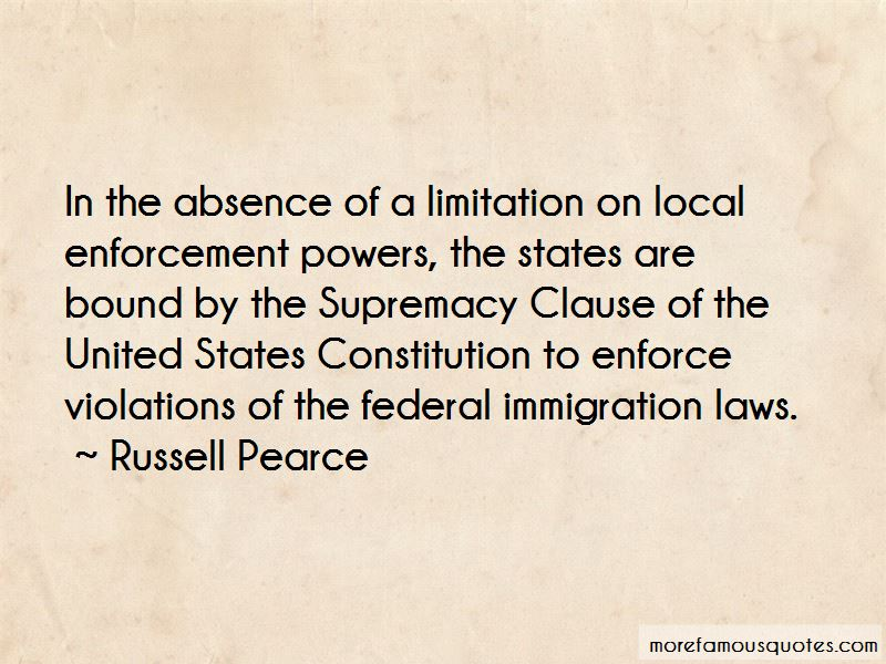 Supremacy Clause Quotes