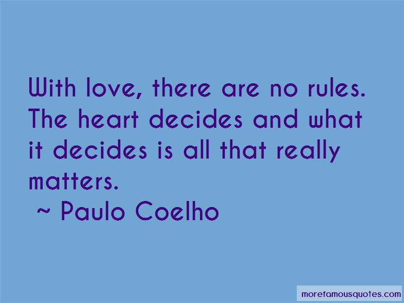 The Heart Decides Quotes