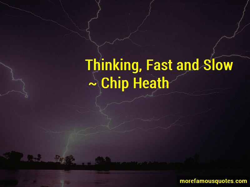 Thinking Fast And Slow Quotes