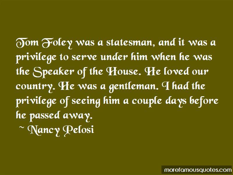 Tom Foley Quotes