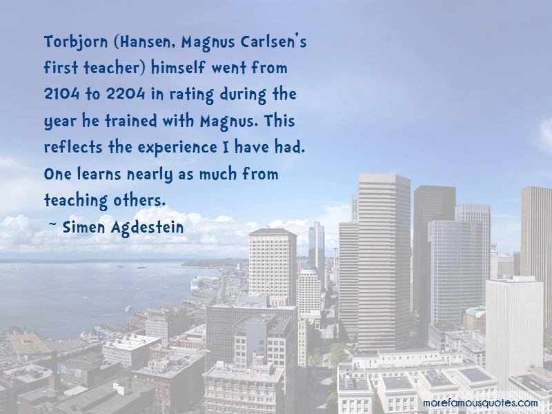 Torbjorn Quotes