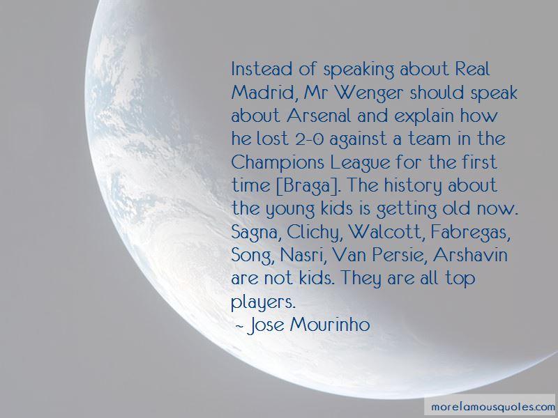 Van Persie Arsenal Quotes
