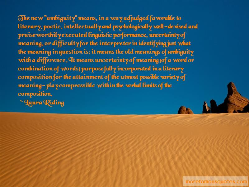 Verbal Linguistic Quotes