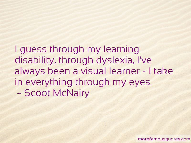 Visual Learner Quotes