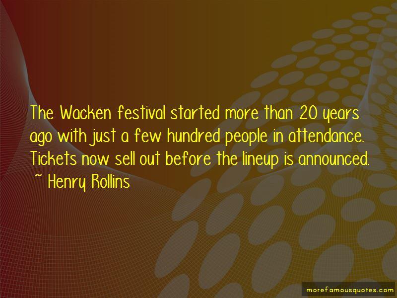 Wacken Quotes
