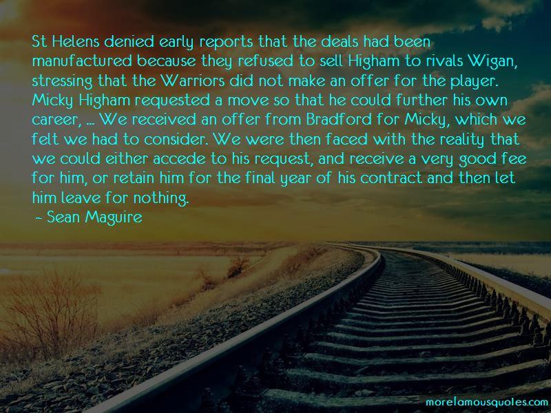 Wigan Warriors Quotes