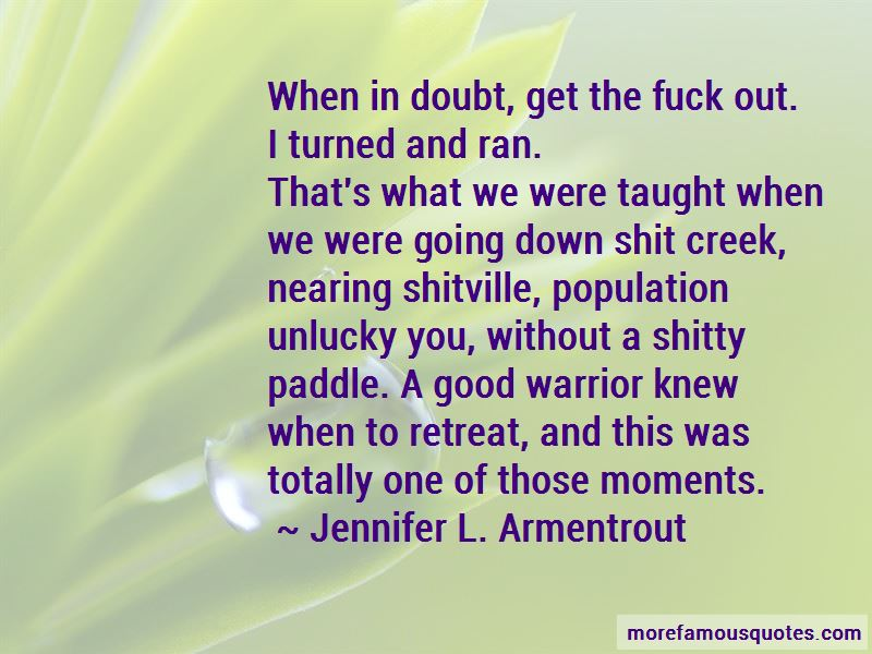 Without Paddle Quotes