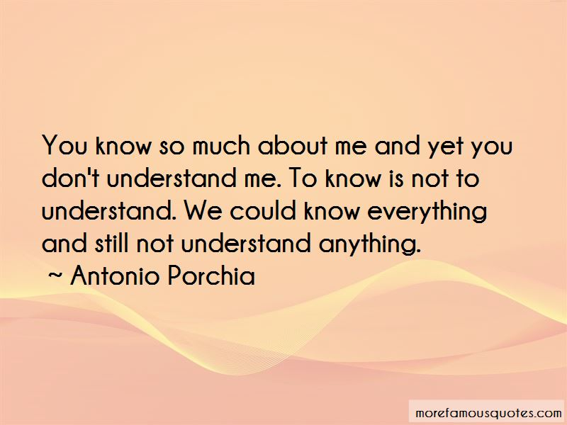 You Don't Understand Me Quotes