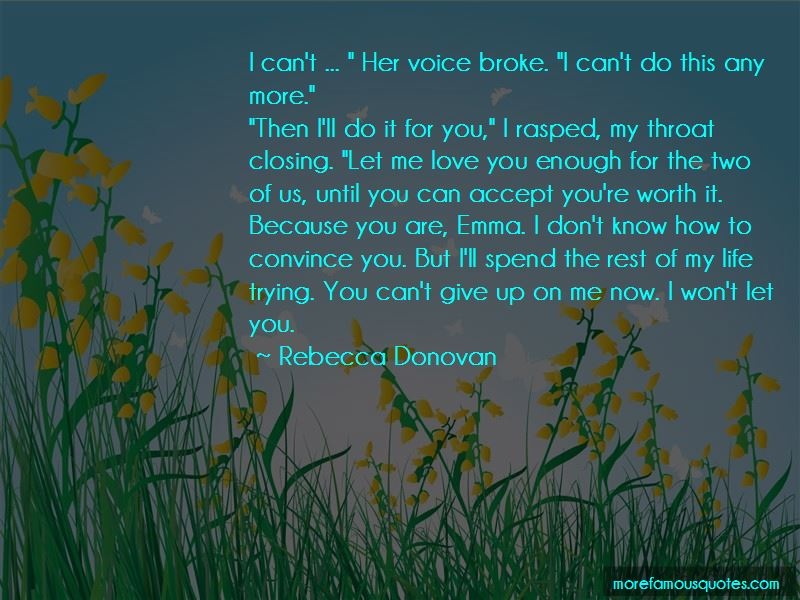 You're Worth It Quotes