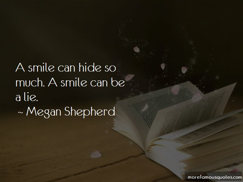 A Smile Can Hide So Much Quotes