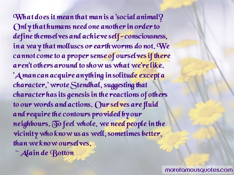 Actions Define Character Quotes