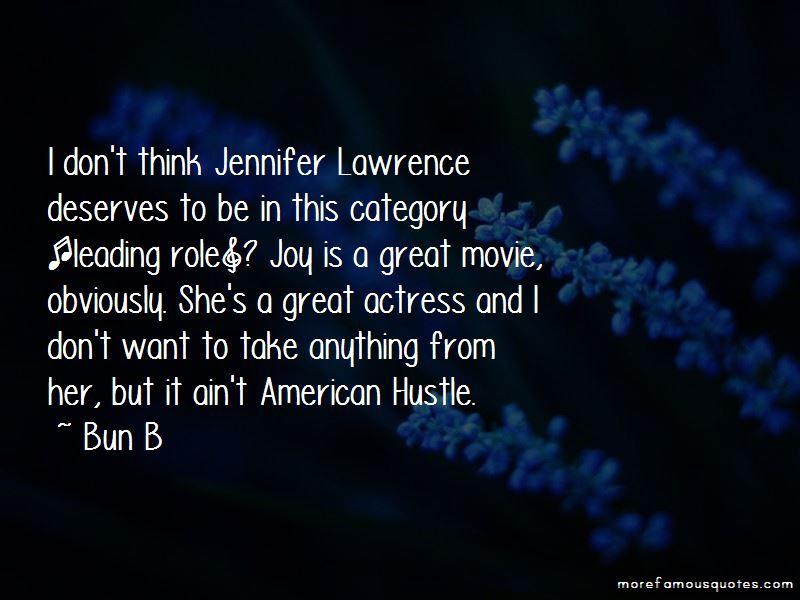 American Hustle Jennifer Quotes