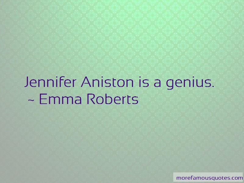 Aniston Quotes