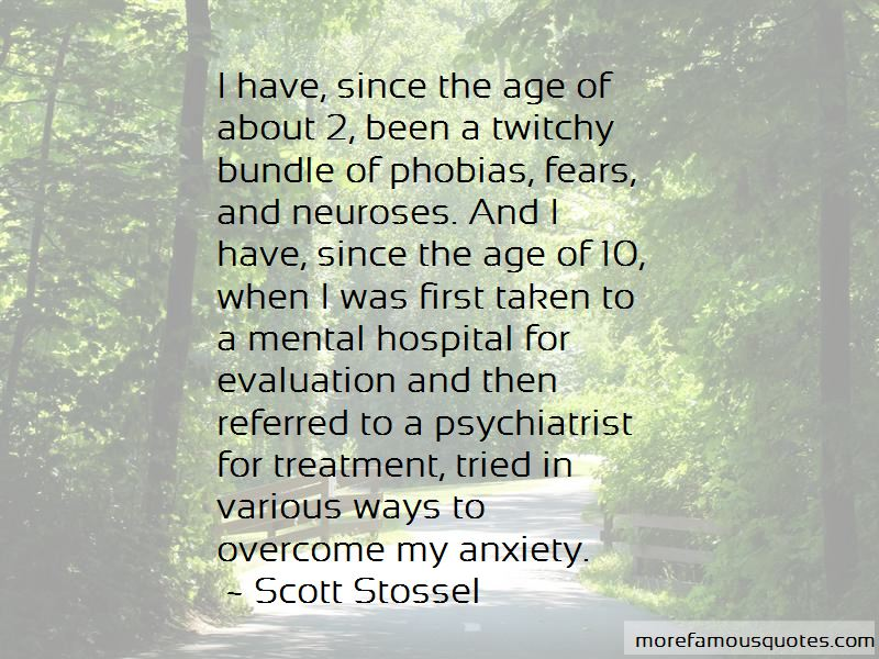Anxiety Treatment Quotes Pictures 2