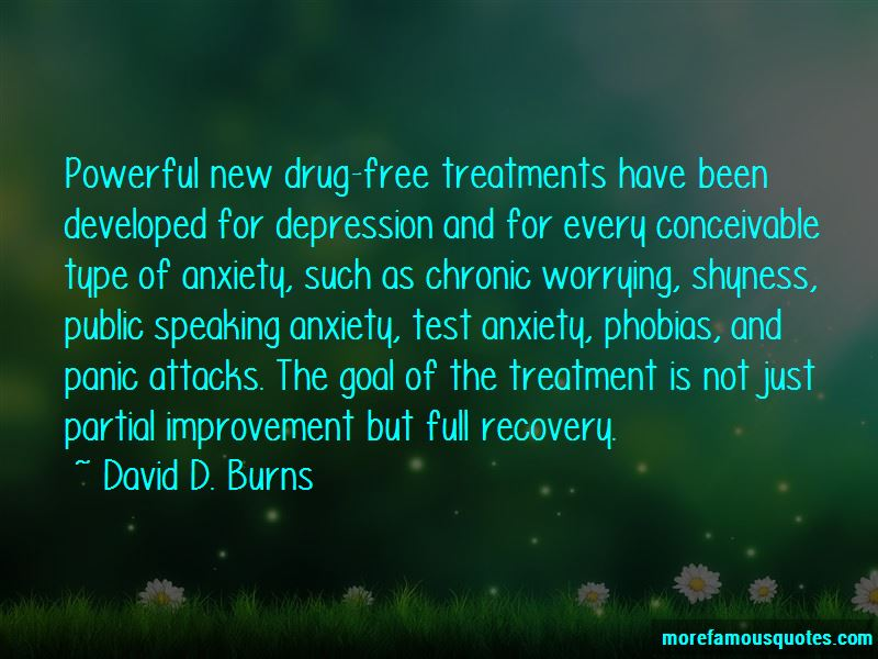 Anxiety Treatment Quotes