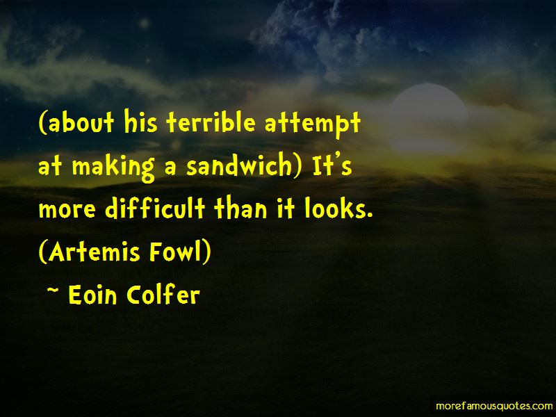 Artemis Fowl 1 Quotes