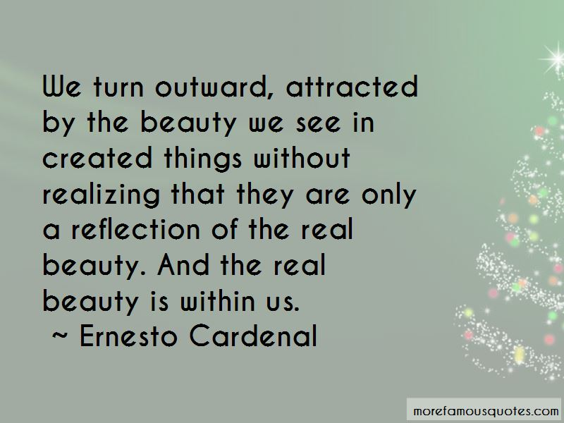 Beauty Is Within Us Quotes