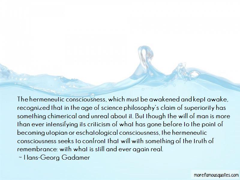 George gadamer quotes