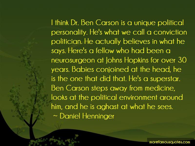 Ben Carson Neurosurgeon Quotes
