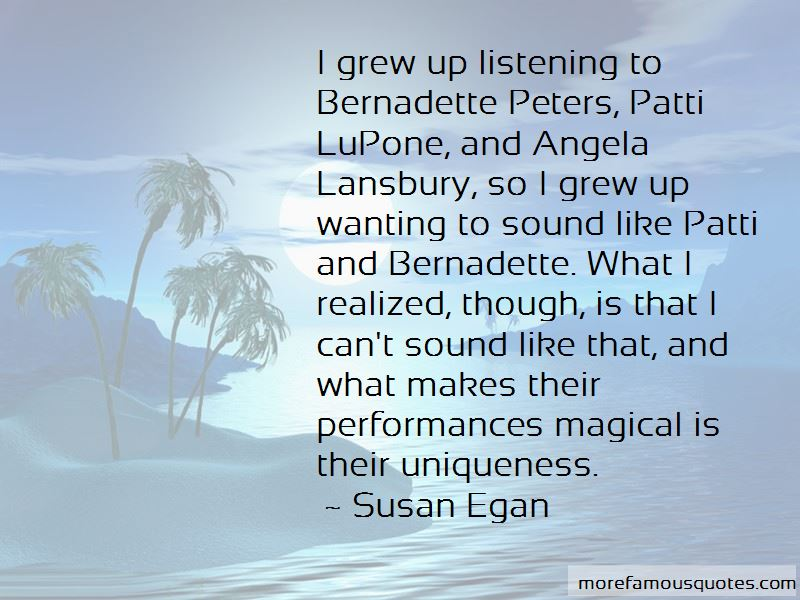 Bernadette Quotes