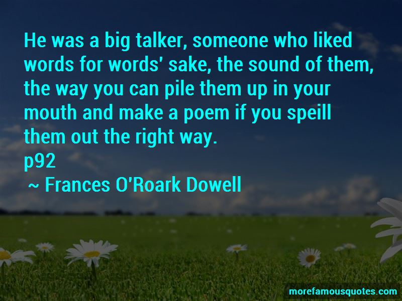 Big Talker Quotes Pictures 3