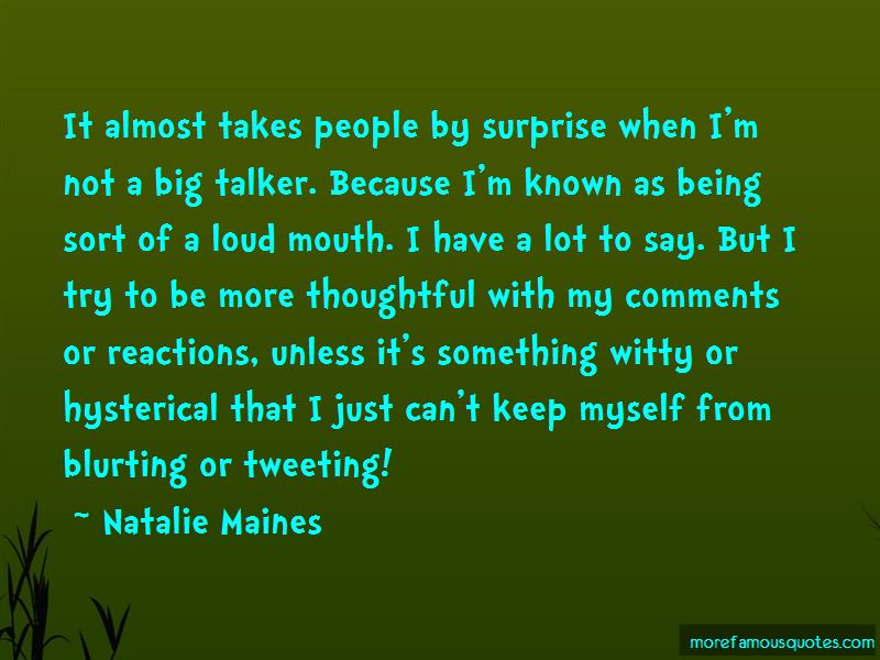 Big Talker Quotes Pictures 4