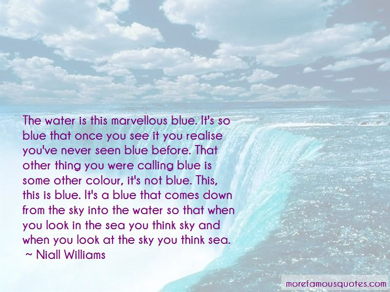 Blue Sea Water Quotes Pictures 4