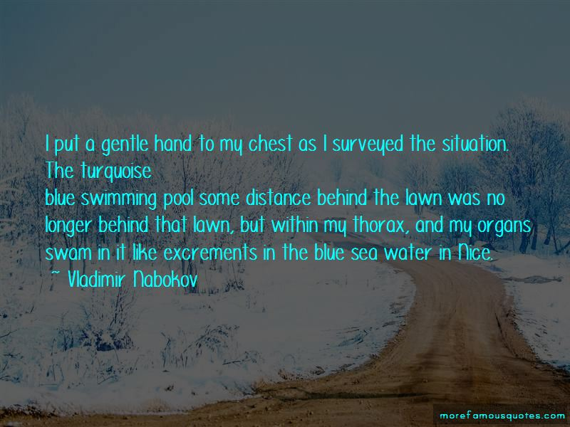 Blue Sea Water Quotes