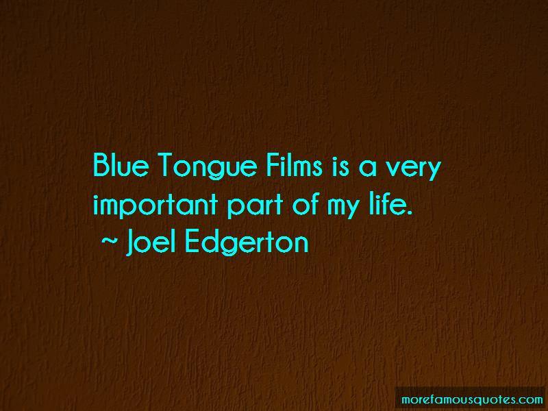 Blue Tongue Quotes