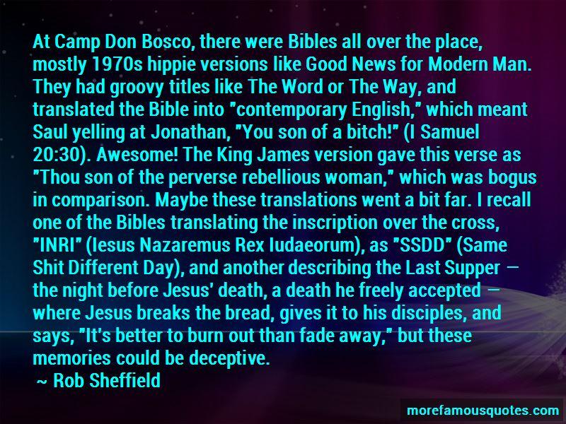 Bosco Quotes