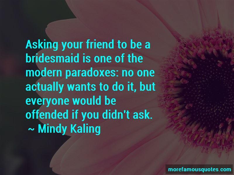 Bridesmaid Asking Quotes