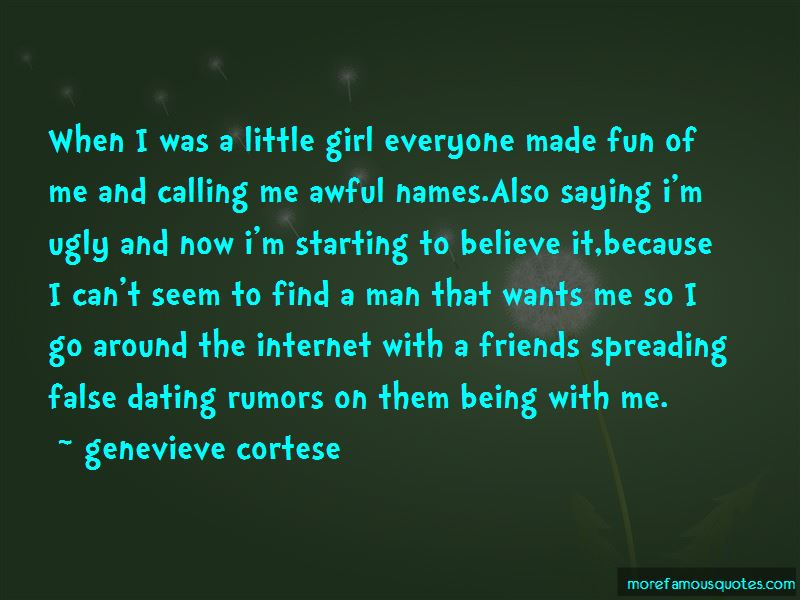 Calling A Girl Names Quotes
