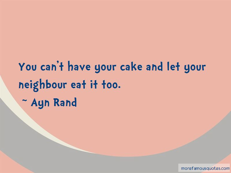 Can't Have Your Cake Quotes