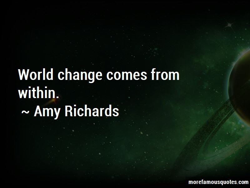 Change Comes From Within Quotes