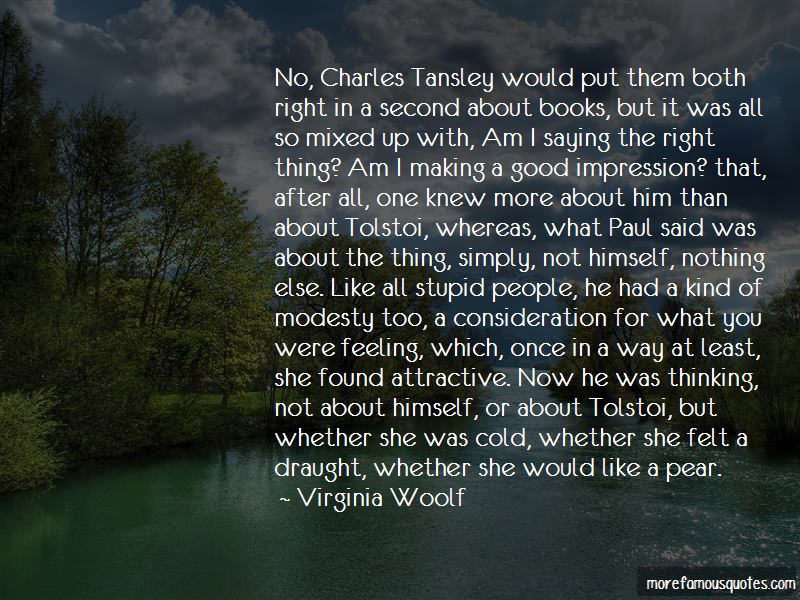 Charles Tansley Quotes