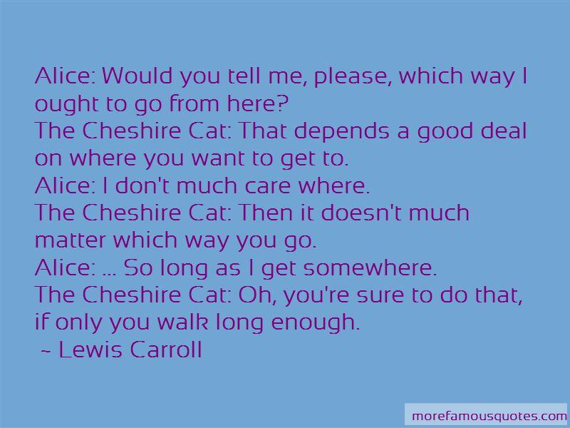 Cheshire Cat Cat Quotes